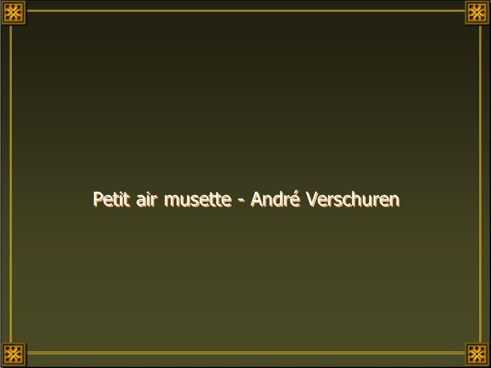 Petit air musette - André Verschuren