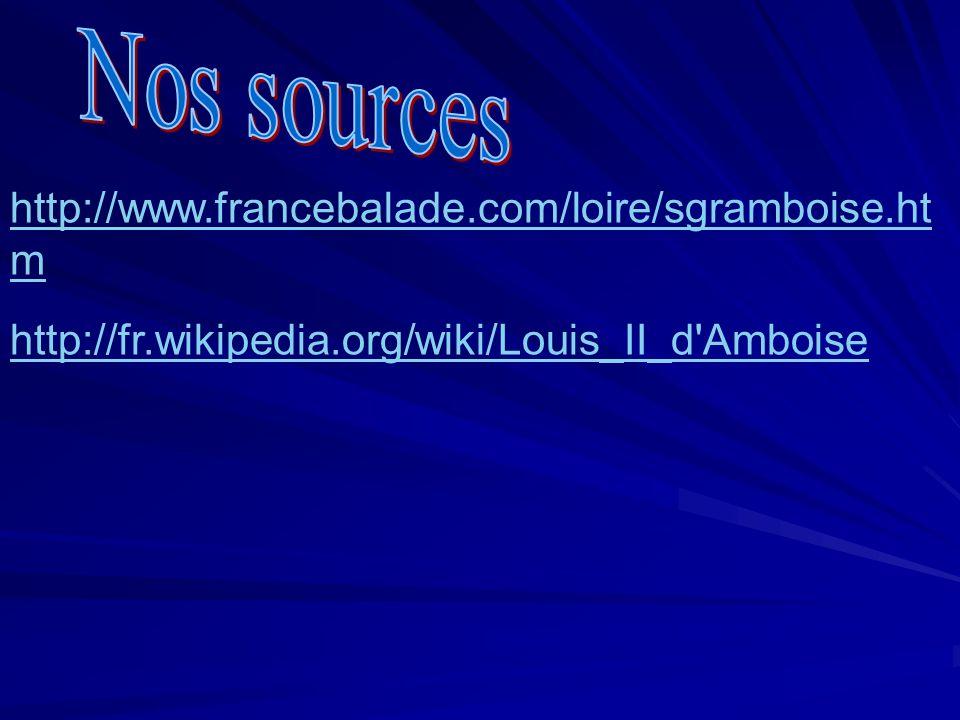http://www.francebalade.com/loire/sgramboise.ht m http://fr.wikipedia.org/wiki/Louis_II_d'Amboise