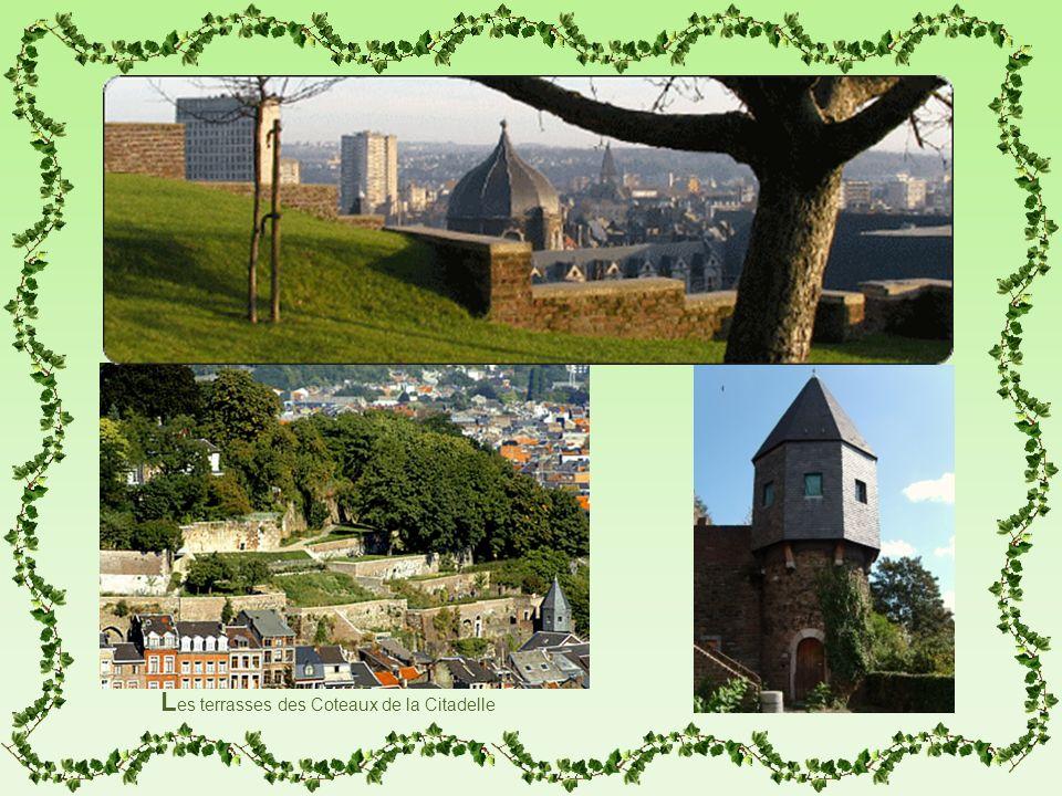 L es terrasses des Coteaux de la Citadelle