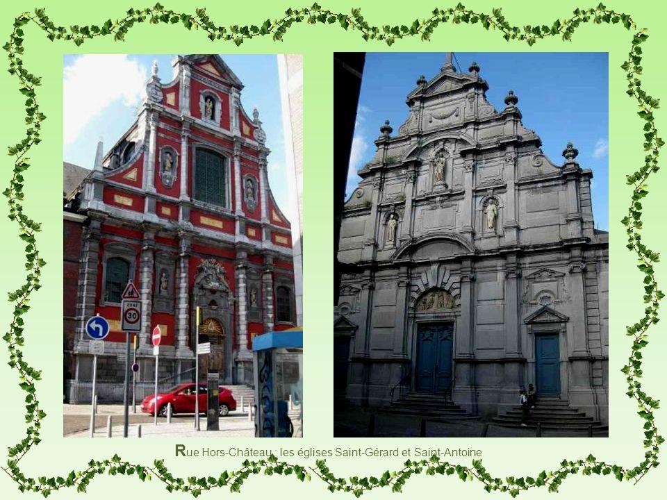 R ue Hors-Château : les églises Saint-Gérard et Saint-Antoine