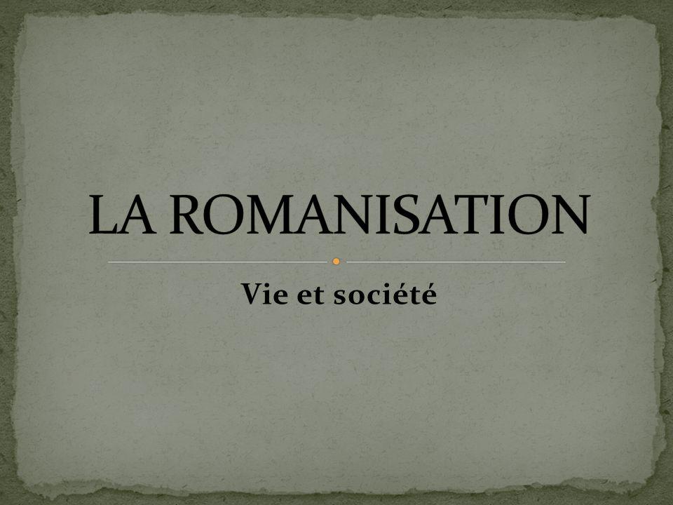 Après la conquête de la Gaule par les Romains, le territoire se transforme rapidement.