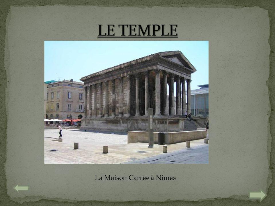 La Maison Carrée à Nimes