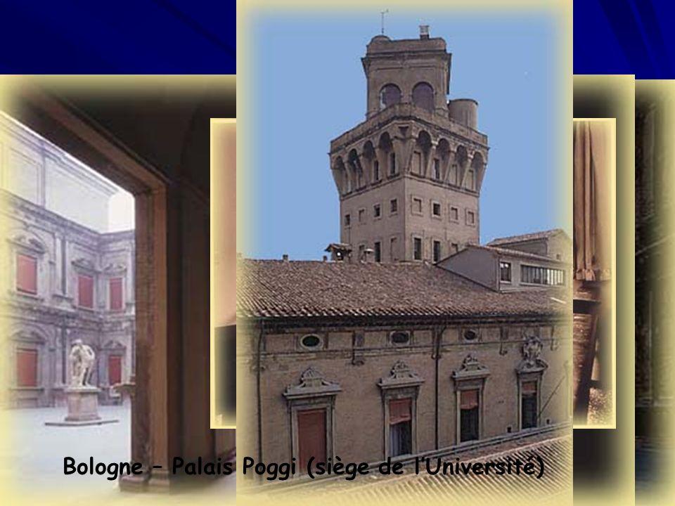 Bologne – Palais Poggi (siège de lUniversité)