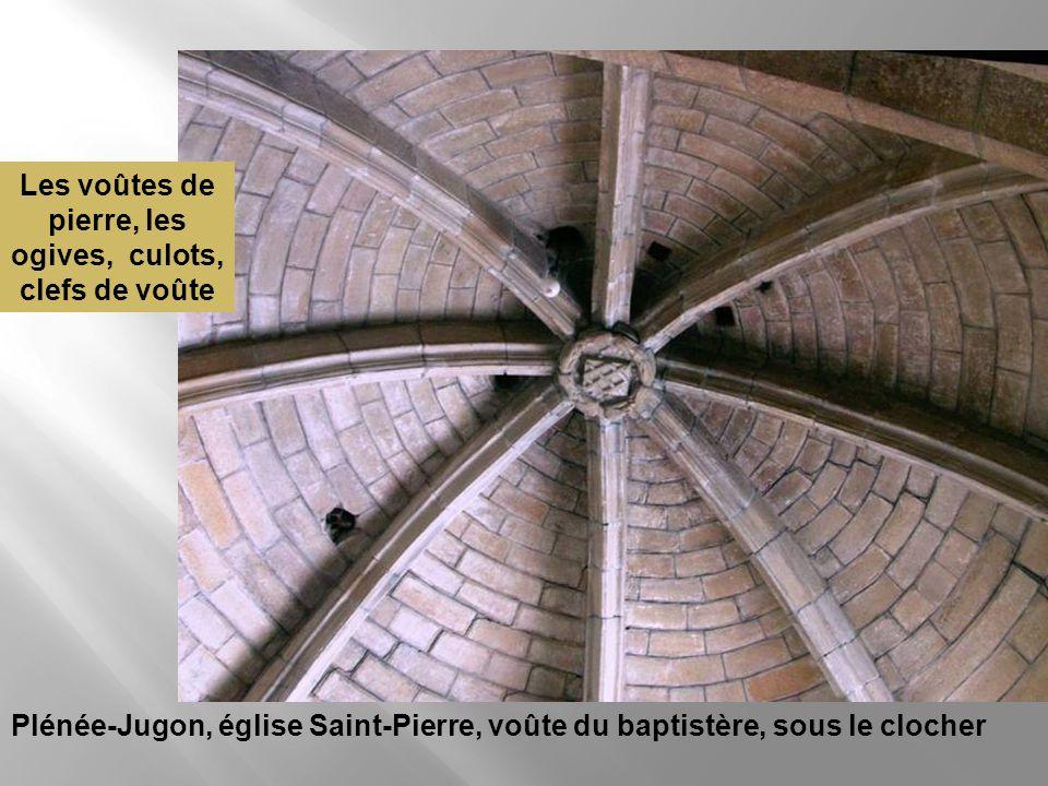 Rimou, enclave de Dol dans le diocèse de Rennes, Église Saint-Samson : sablière du chœur, détail Nos photos vont depuis les sommets : la charpente, le