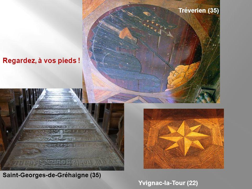 Antrain (35), église Saint-André : les degrés du choeur Nos photos vont jusquaux sols, de bois comme de pierre
