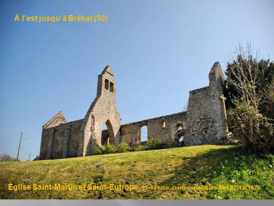 À louest, nous allons jusquà Hillion (22) Église saint Jean Baptiste Saint Brieuc et le loup 16ème, inscrit MH