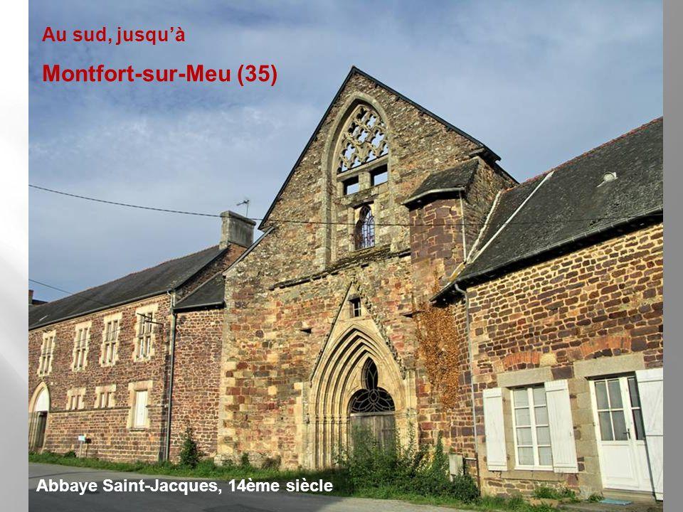 À lest jusquà Bréhal (50) Église Saint-Martin et Saint-Eutrope, 11-12ème, ruines inscrites MH 07/12/1970