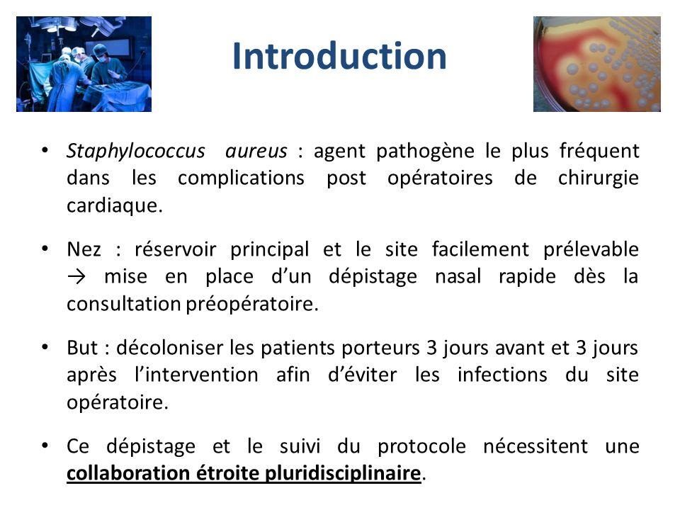Plan Rappels bactériologiques Élaboration et mise en place du protocole Procédure de dépistage et de décolonisation Résultats à 9 mois Conclusions