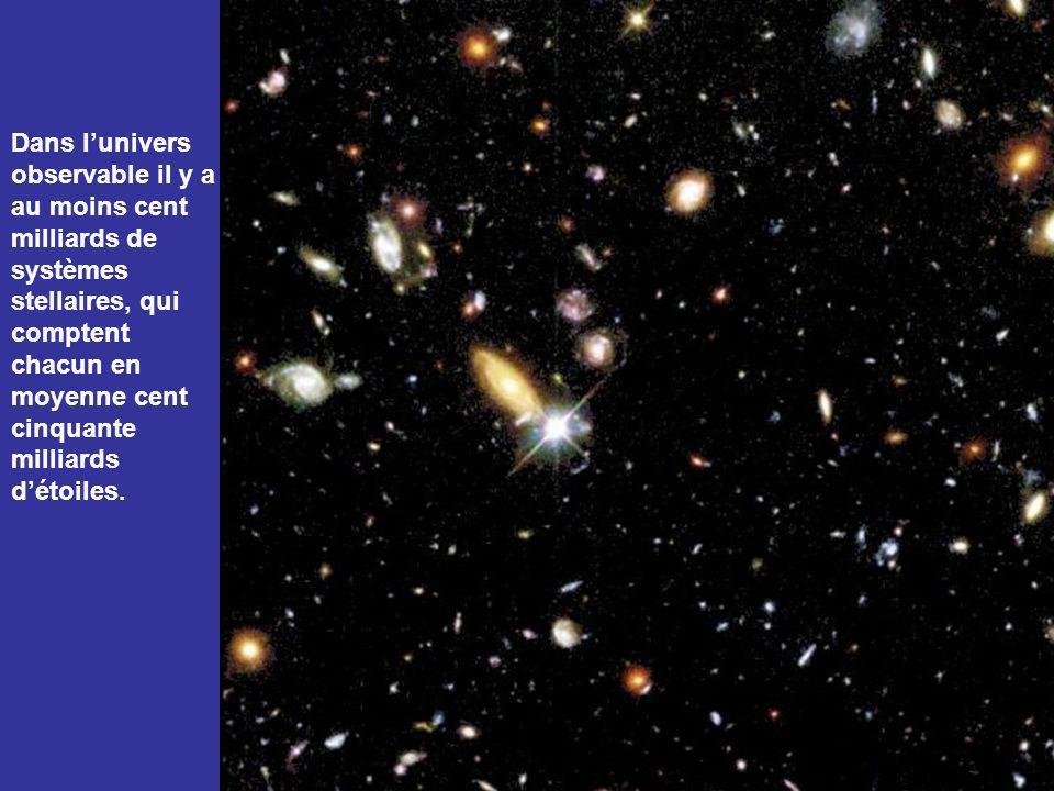 Ce système stellaire ressemble beaucoup au nôtre. Il compte trois cents milliards détoiles comme notre soleil.