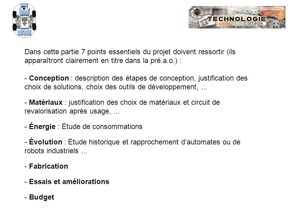 Progression Classe de 3ème Progression Classe de 3ème CI1 : Appropriation du cahier des charges CI2 : Recherche de solutions techniques CI3 : Revue de projet et choix de solutions CI4 : Réalisation et validation du prototype CI5 : Présentation finale dun projet