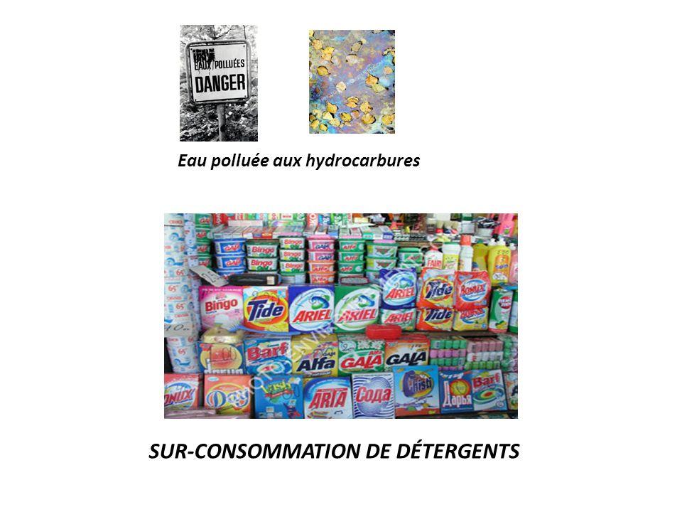 COURS D'EAU EUTROPHIÉ LAVAGE DE LÉGUMES DANS LA RIVIÈRE REJET D'EFFLUENTS Eaux polluéesEaux polluées..