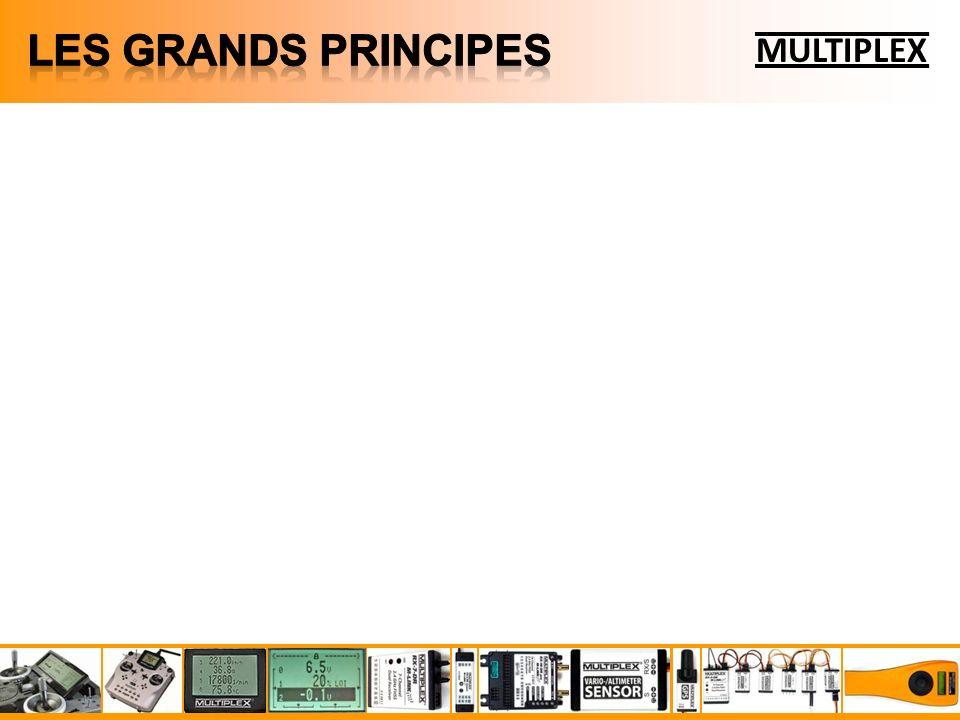 MULTIPLEX Le MULTIMATE est un terminal de programmation et de mesure universel : Appareil autonome (4 piles ou éléments LR6) Nombreuses fonctions disponibles : Configuration des récepteurs Multiplex