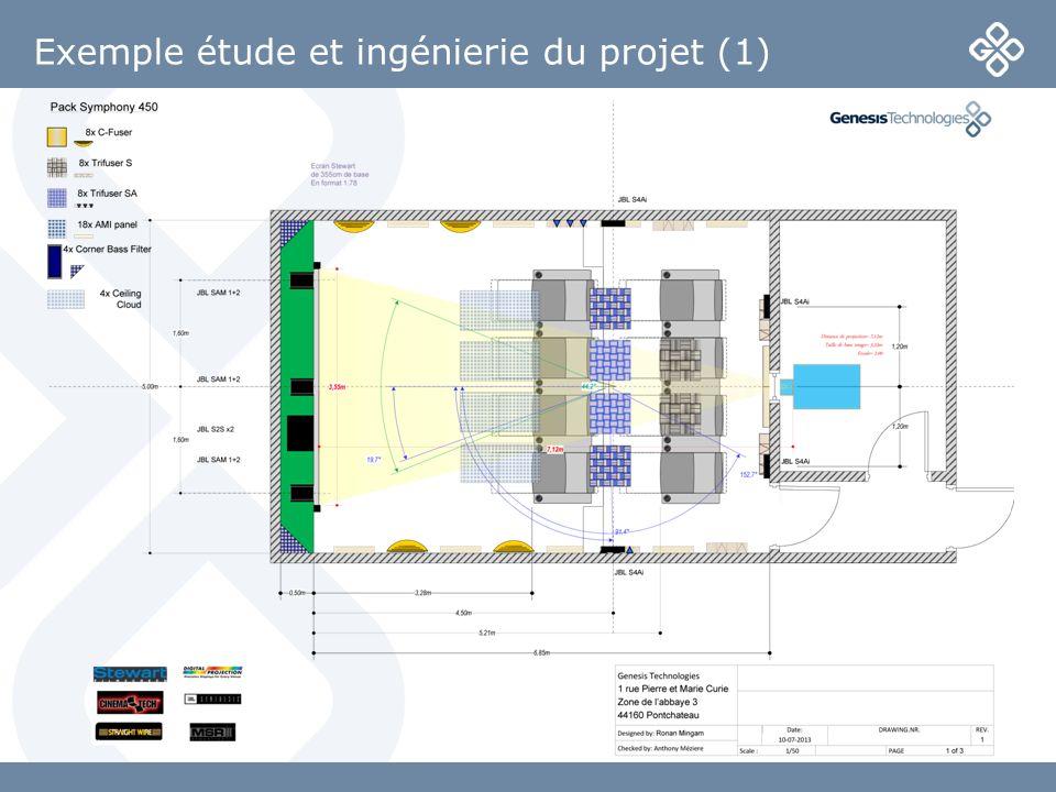 Exemple étude et ingénierie du projet (1)