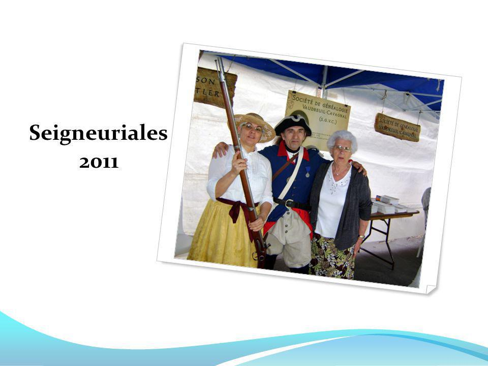 Seigneuriales 2011