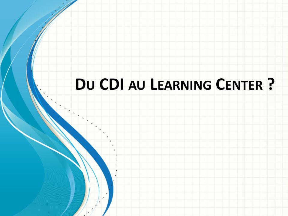 Le concept de Learning center