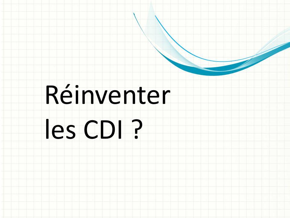 Réinventer les CDI ?