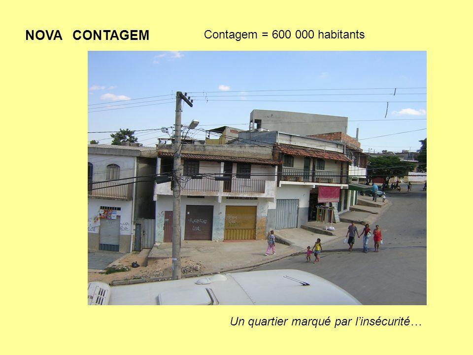 Solesperança à Nova Contagem : Lassociation aide un centre éducatif au milieu dun quartier défavorisé (favela) : le Centre Irmaos de Sao-Gabriel, géré par les Frères de Saint Gabriel de Saint Laurent sur Sèvre.