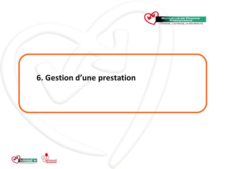 6. Gestion dune prestation