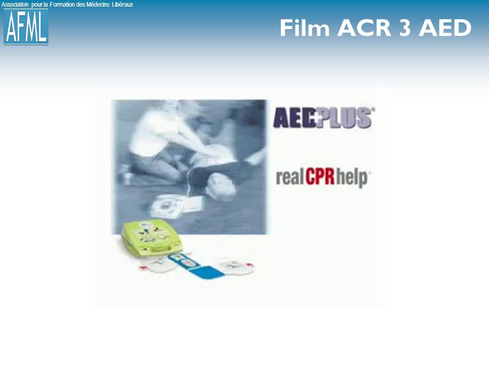 Association pour la Formation des Médecins Libéraux Film ACR 3 AED