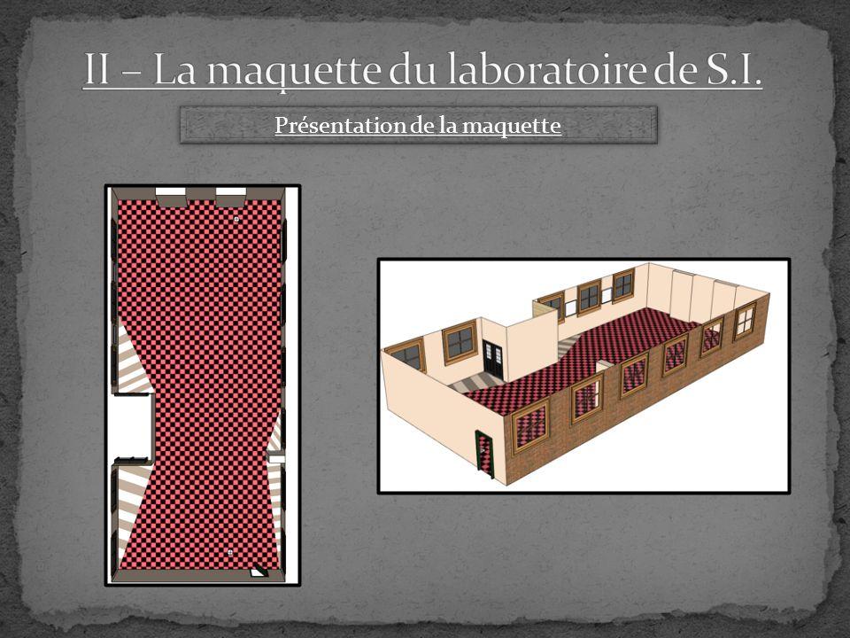 Répartition du travail TACHES S1 1hS2 1hS3 1hS4 2hS5 2hS6 2hS7 3hS8 2hS9 3h S10 3hS11 1hS12 1hS13 3hS14 3hS15 2hS16 1h Assemblage de la caméra Installation de la caméra Page en language HTML Maquette numérique du laboratoire Heure vide pour se concerter Travail sur le powerpoint Diaporama Khalid Mohamed Mohamed & Khalid Mohamed & Suat Saadia Suat Saadia & Mohamed Assemblée Travail sur le powerpoint