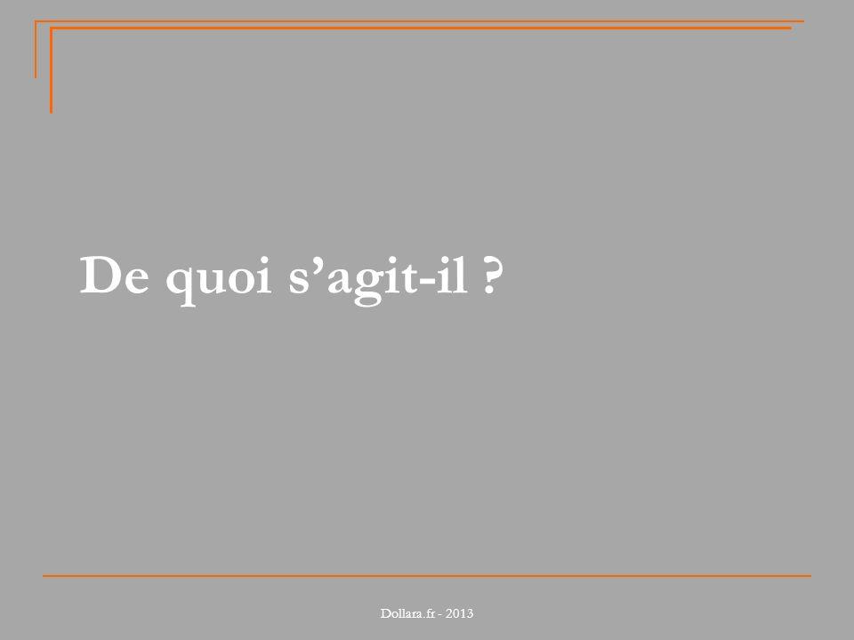 Dollara.fr - 2013 De quoi sagit-il ?