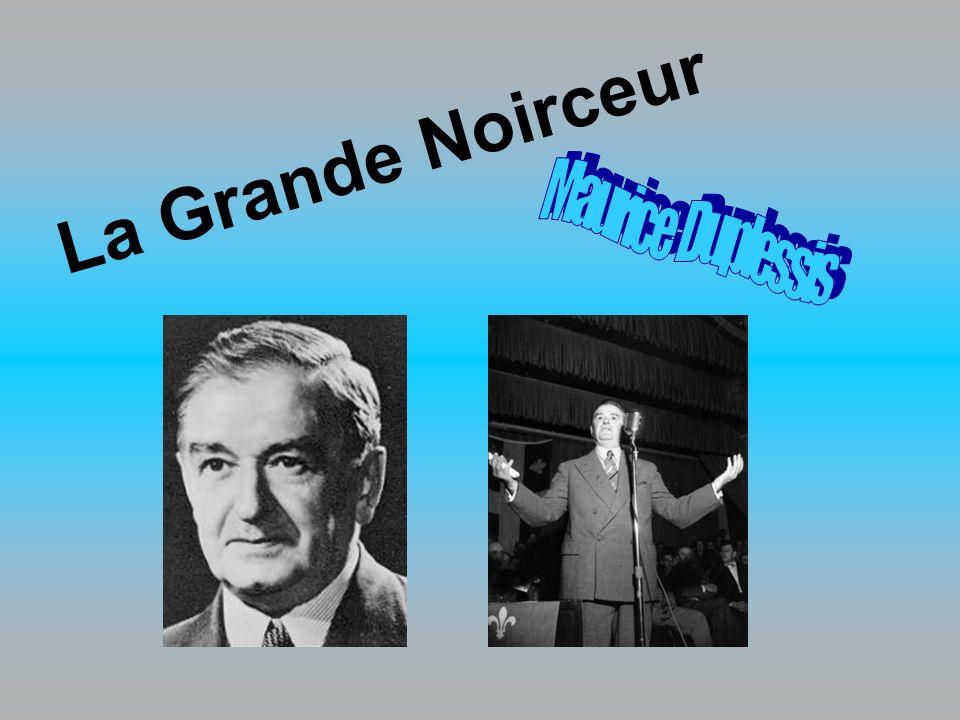 En 1944, le Premier ministre du Québec était Maurice Duplessis.