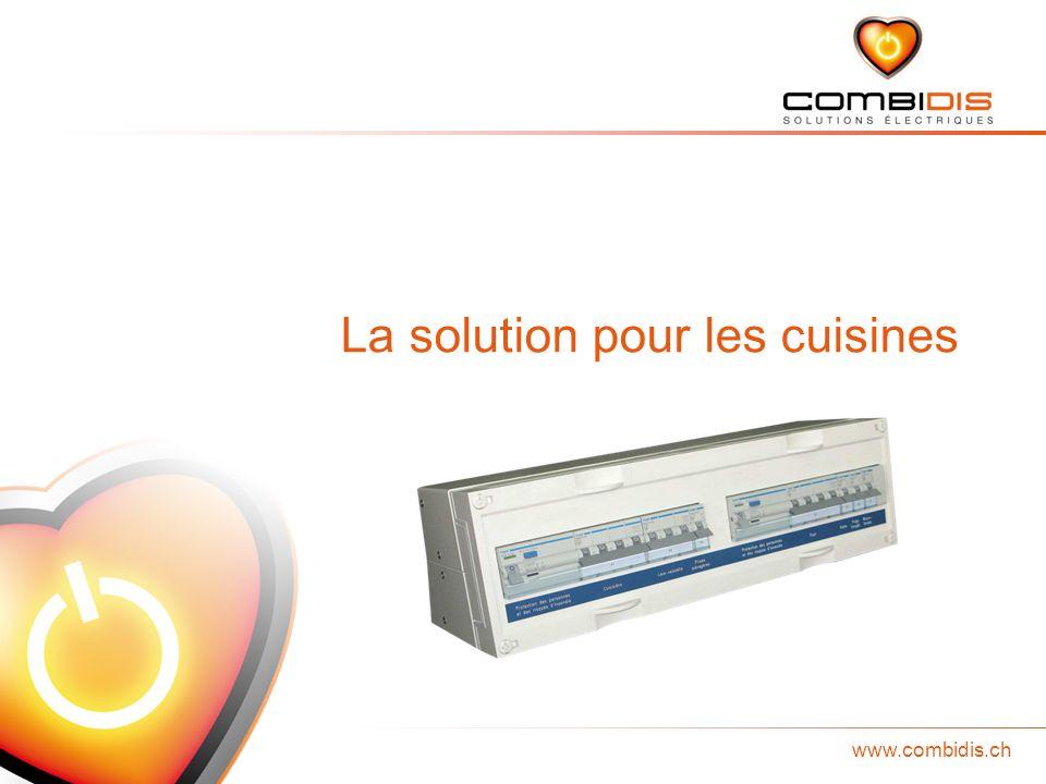 www.combidis.ch EnergyBox La solution pour les cuisines