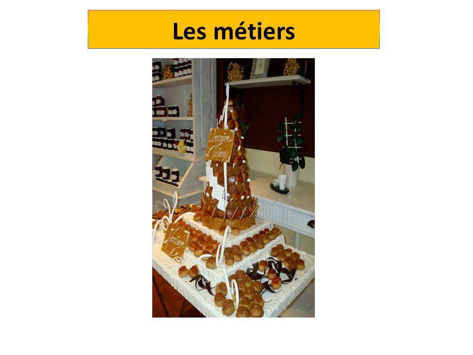 Les différents métiers pâtissier, chocolatier-confiseur, glacier-fabricant, boulanger, pâtissier pâtissier industriel pâtissier traiteur Boulanger Biscuitier Confiturier