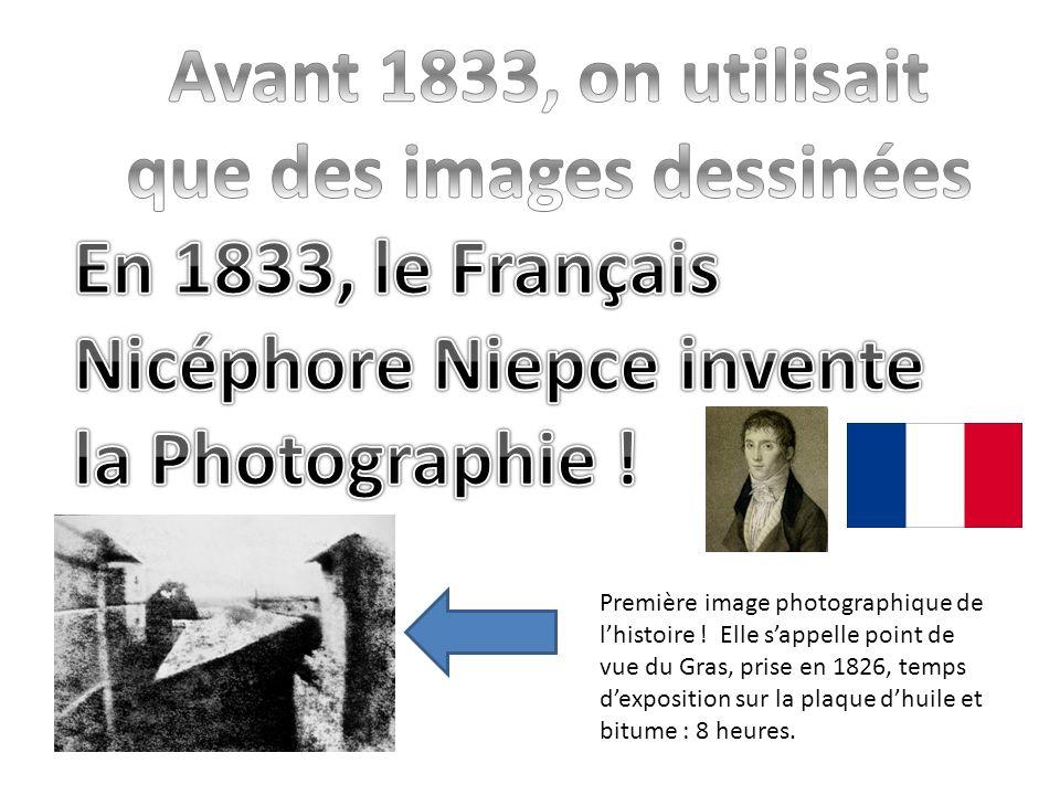 Première image photographique de lhistoire .