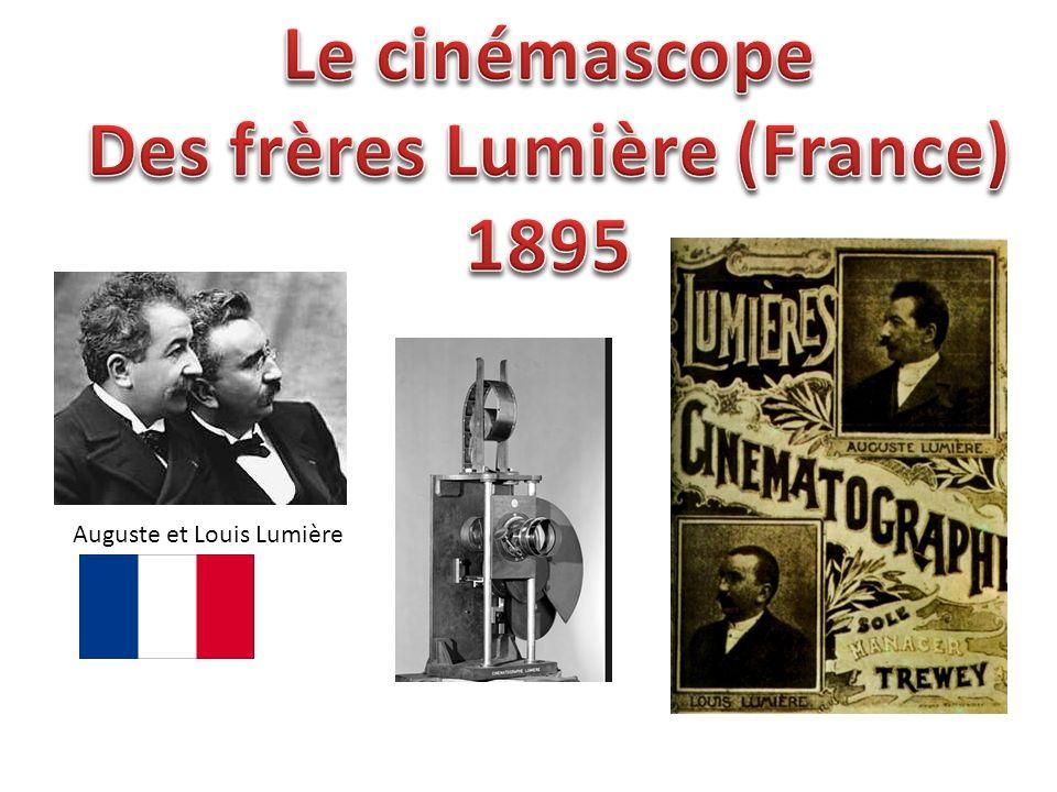 Le concept des frères Lumière permet la projection dune pellicule perforée sur un écran.
