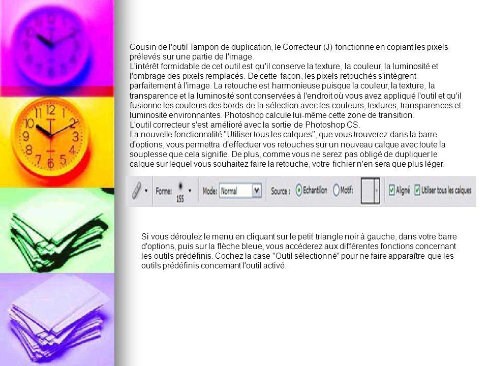 Pour créer un nouvel outil prédéfini, cliquez sur Nouvel outil prédéfini ou sur la petite icône sous la flèche bleue Créer un outil prédéfini .