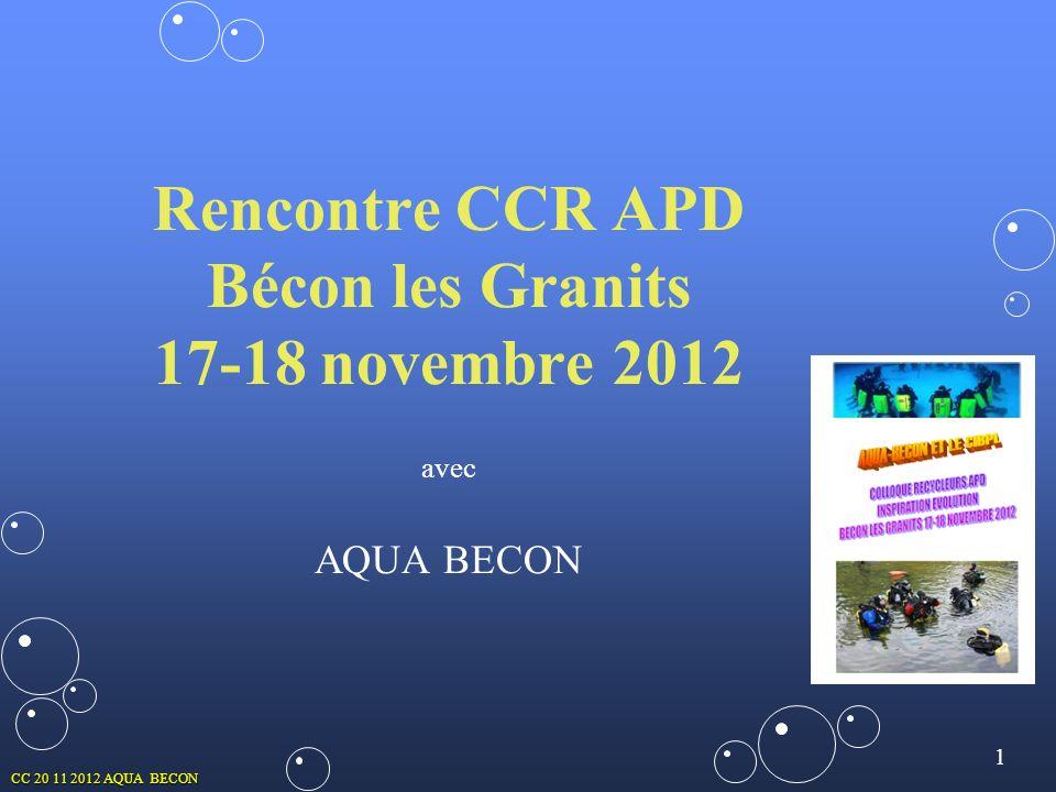 1 CC 20 11 2012 AQUA BECON Rencontre CCR APD Bécon les Granits 17-18 novembre 2012 avec AQUA BECON