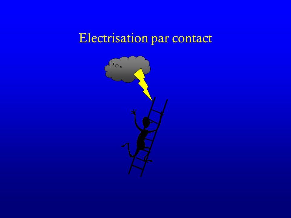 Electrisation par contact