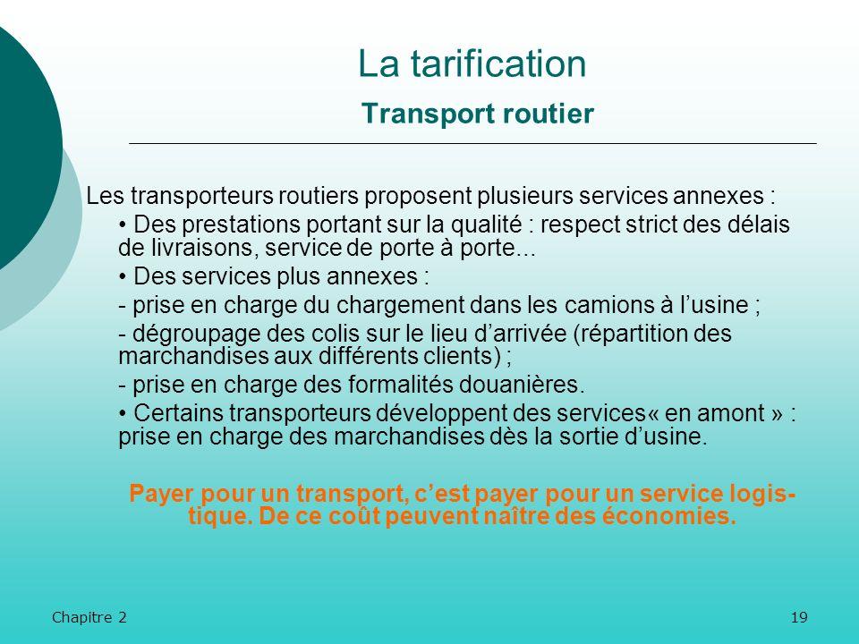 Chapitre 218 Les transports internationaux de marchandises suivent strictement la règle de liberté de concurrence et de fixation des tarifs. Le prix d
