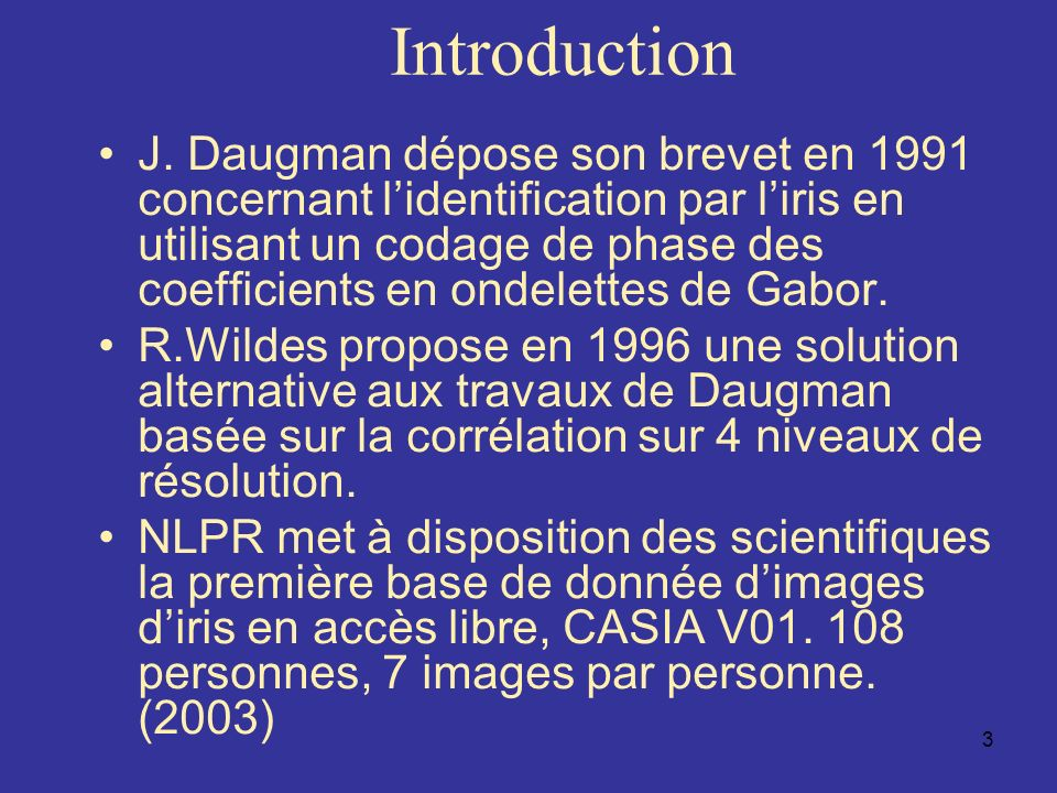 4 Introduction Les modes dacquisitions : –En proche infrarouge (700-900nm).
