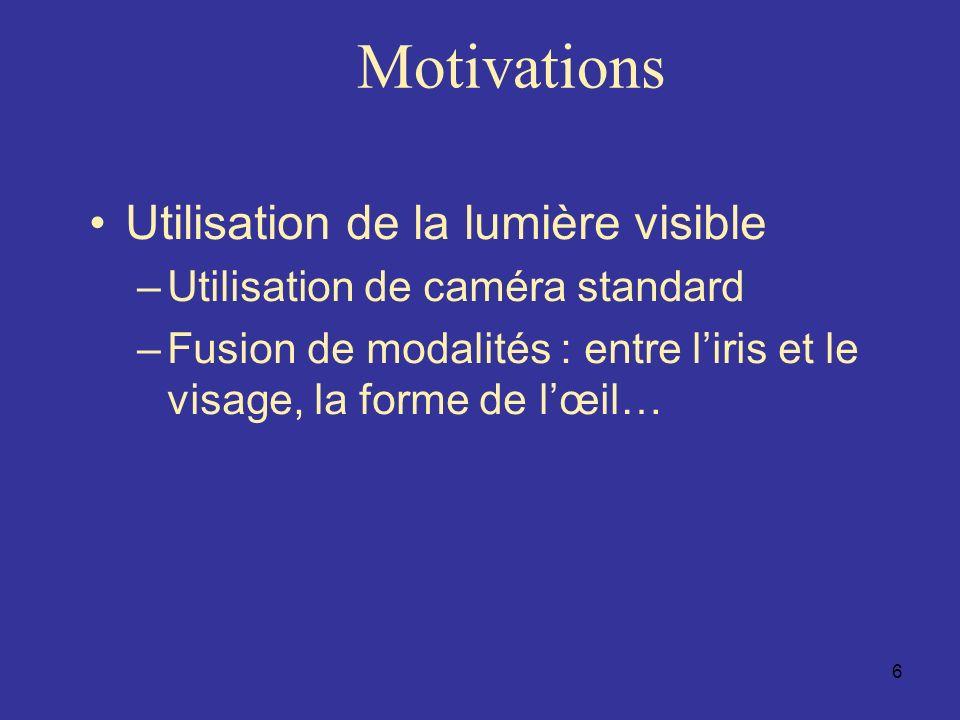 17 Normalisation : Transformation pseudo polaire