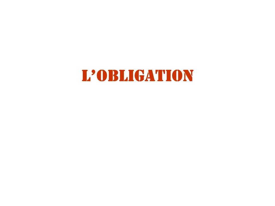 LOBLIGATION