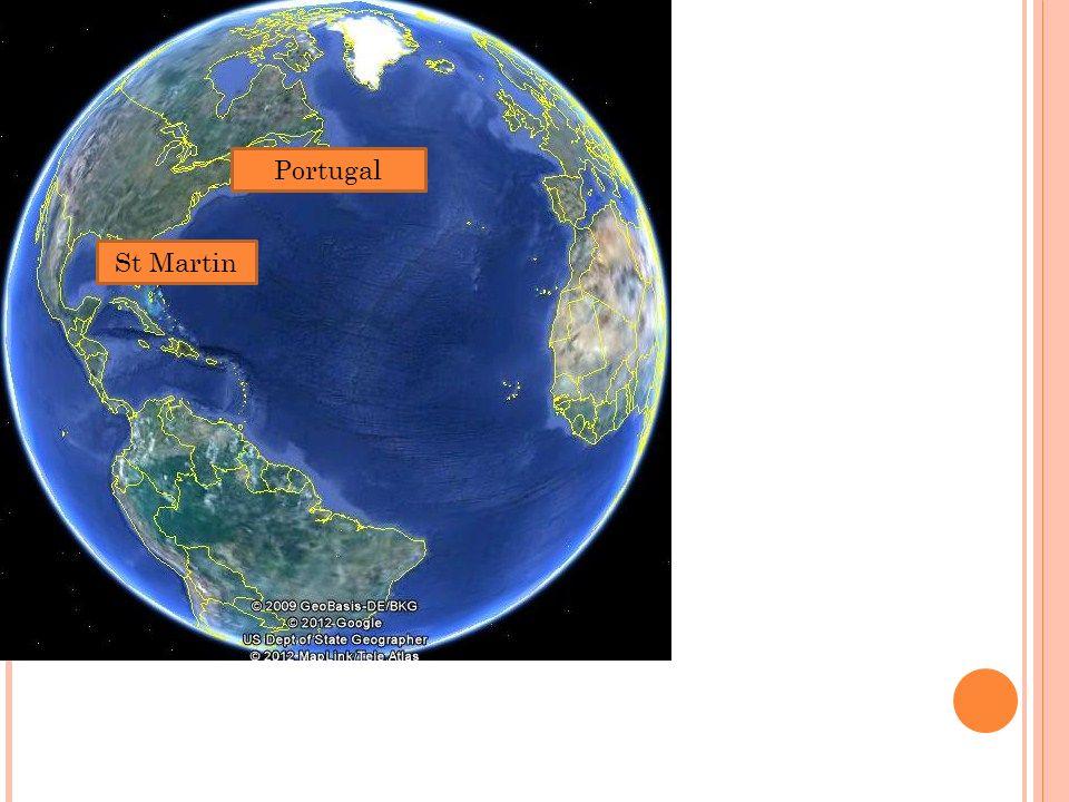 SAINT MARTIN 86 Km2 En 1648, lîle de Saint-Martin nétait occupée que par quatre Français et cinq Hollandais.