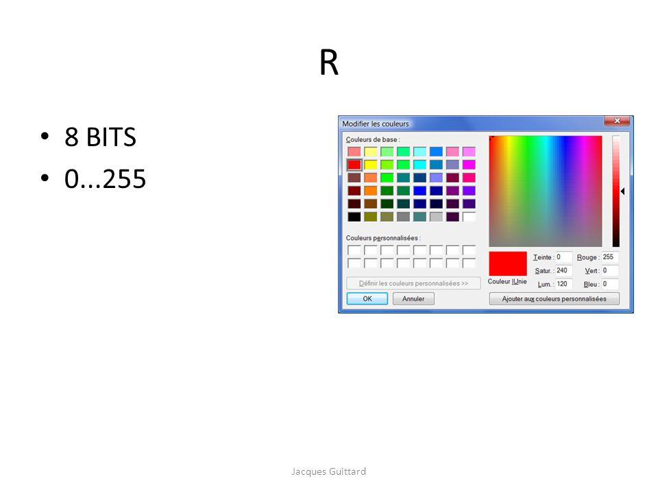 QUALITÉ La qualité d une liaison est liée au taux d erreur par bit : TEB = Exemple de leffet du bruit sur la transmission dun signal numérique Remarque : on utilise également labréviation : TEEB (ou BEER) Nombre de bits faux Nombre de bits transmis TEB = Jacques Guittard