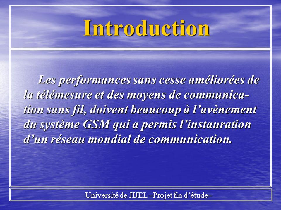 Introduction Introduction Les performances sans cesse améliorées de la télémesure et des moyens de communica- tion sans fil, doivent beaucoup à lavène