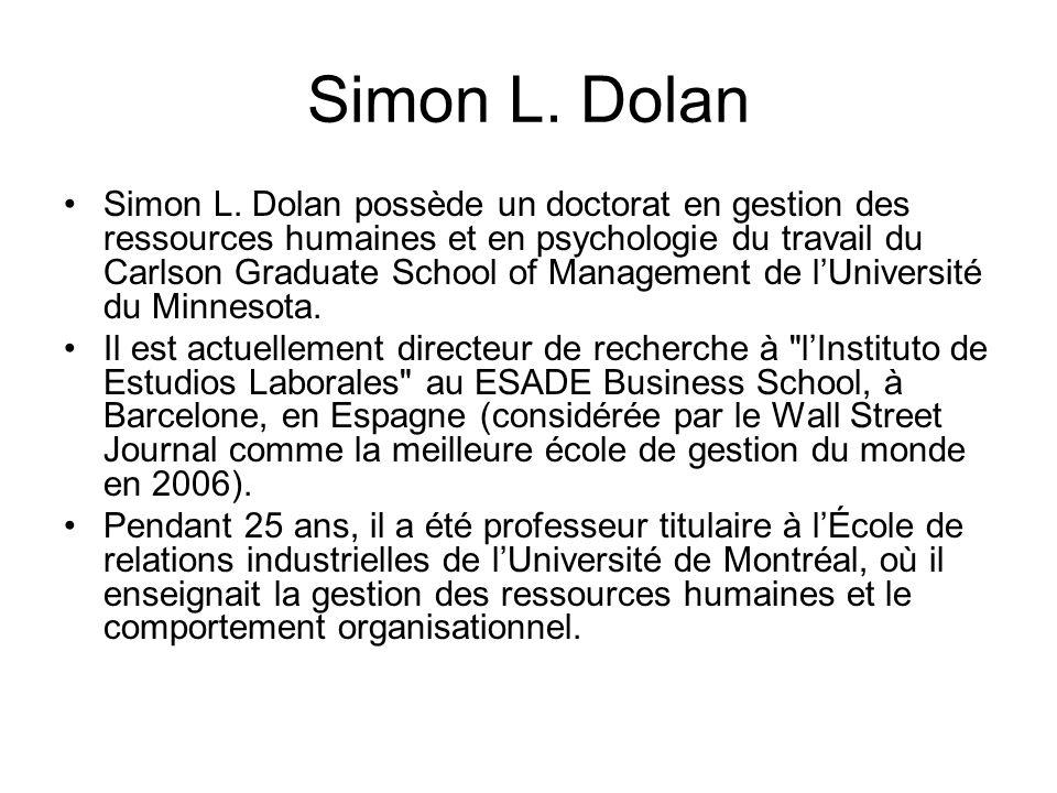 Simon L.Dolan Simon L.
