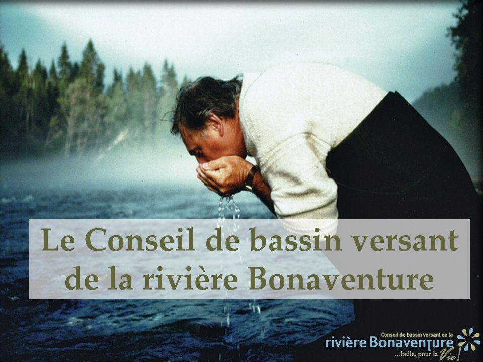 Le Conseil de bassin versant de la rivière Bonaventure
