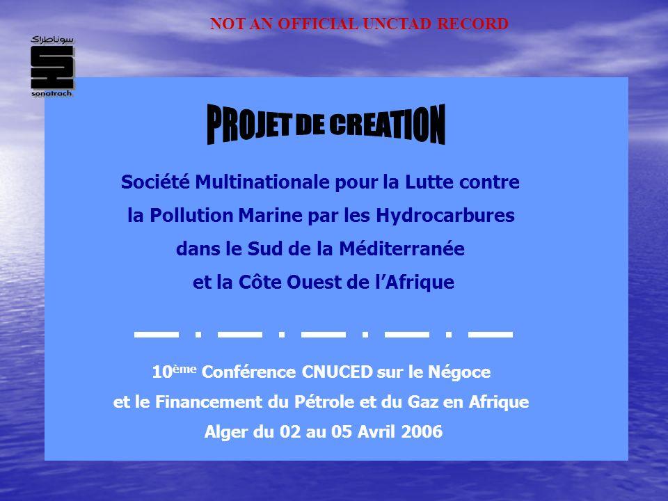 Société Multinationale pour la Lutte contre la Pollution Marine par les Hydrocarbures dans le Sud de la Méditerranée et la Côte Ouest de lAfrique 10 è