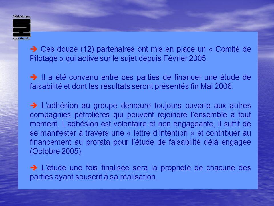 Ces douze (12) partenaires ont mis en place un « Comité de Pilotage » qui active sur le sujet depuis Février 2005. Il a été convenu entre ces parties