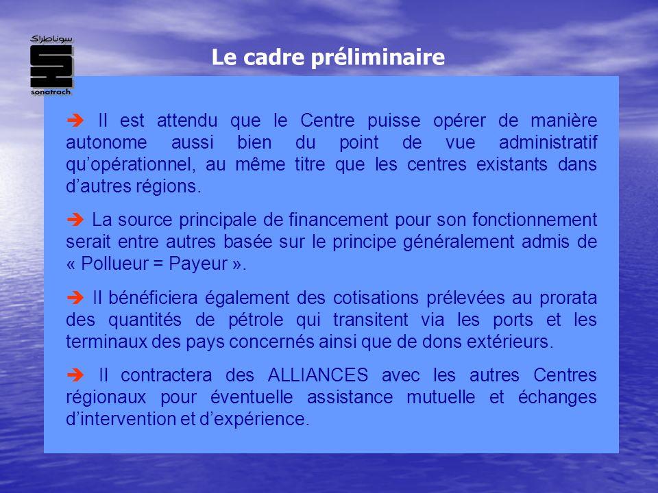 Il est attendu que le Centre puisse opérer de manière autonome aussi bien du point de vue administratif quopérationnel, au même titre que les centres