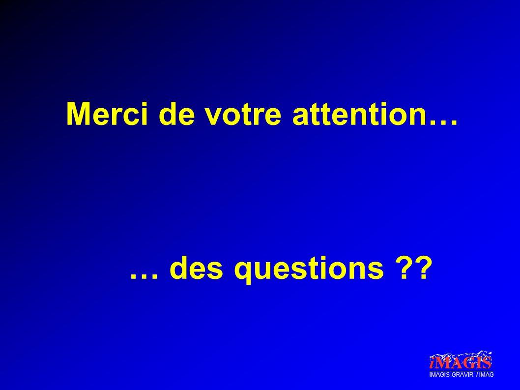 iMAGIS-GRAVIR / IMAG Merci de votre attention… … des questions ??