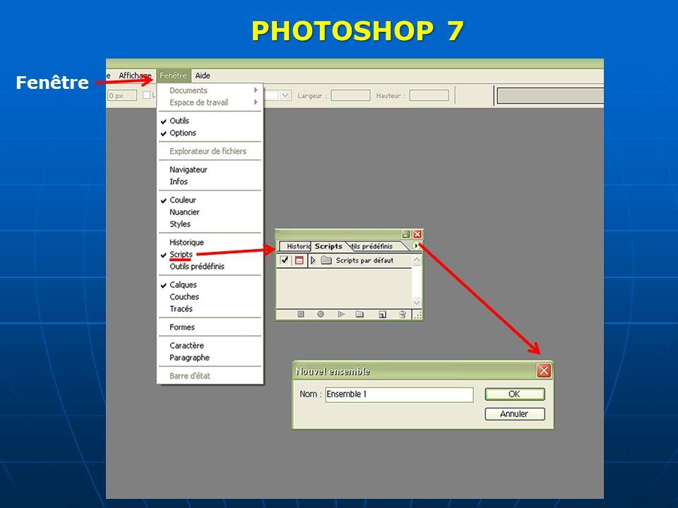 3ème icone à partir de la gauche 3ème icone à partir de la gauche Ouvrir un ensemble PhotoShop un nom ?