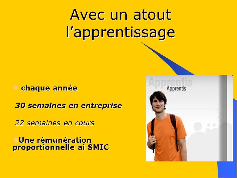 Une expérience Les titulaires du BTS CGO par apprentissage obtiennent rapidement un CDD ou un CDI en cabinet ou en entreprise.