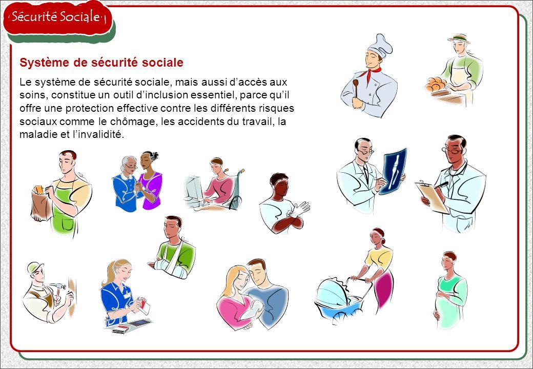 Le principal organisme italien de sécurité sociale est lINPS (Institut National de sécurité sociale) qui assure la quasi totalité des employés du secteur privé et aussi, depuis peu, du secteur public, tandis que dautres catégories (comme, entre autres, les journalistes, les médecins, les avocats) relèvent dautres instituts.