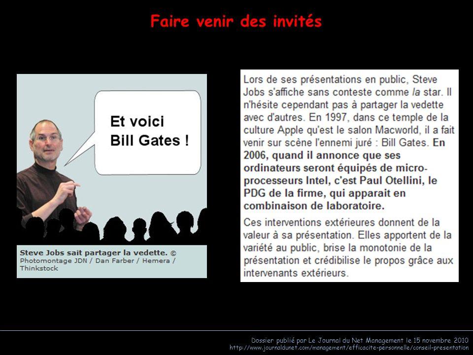 Dossier publié par Le Journal du Net Management le 15 novembre 2010 http://www.journaldunet.com/management/efficacite-personnelle/conseil-presentation Focalisation
